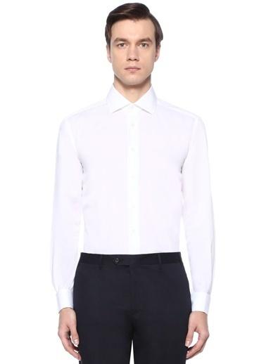 Corneliani Smokin Gömlek Beyaz